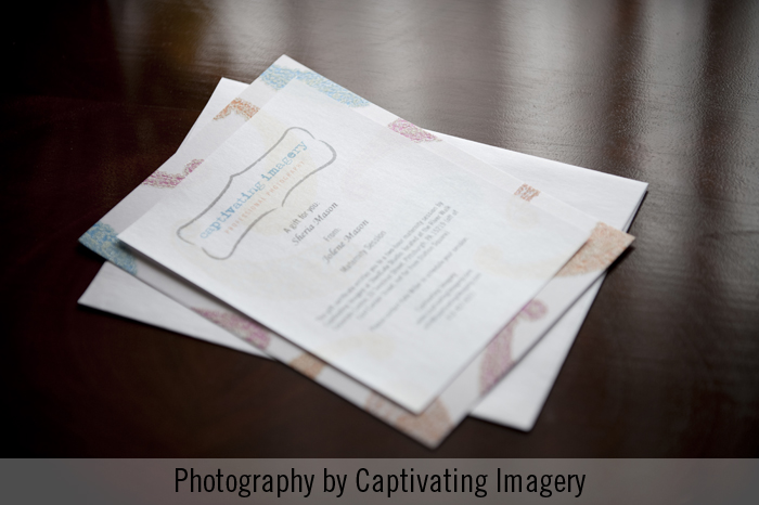 Gift certificate for portrait sessions