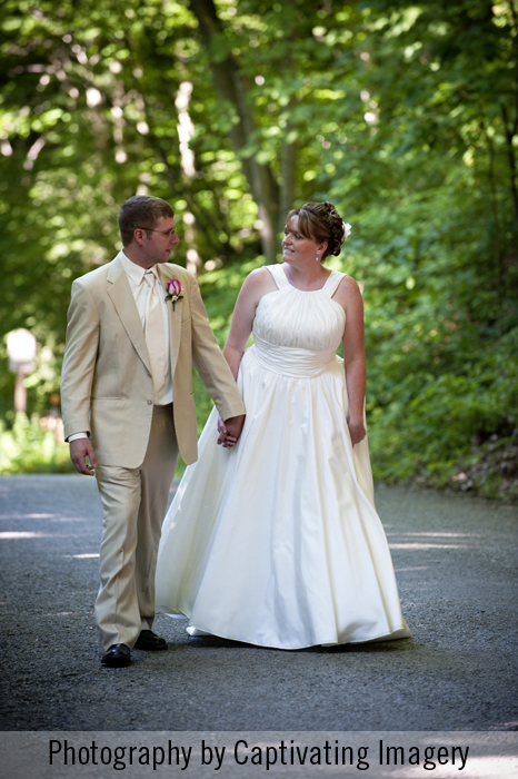 On-location wedding photography in Pittsburgh