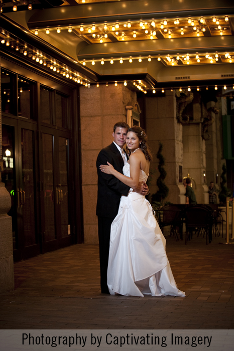 wedding photography in downtown Pittsburgh