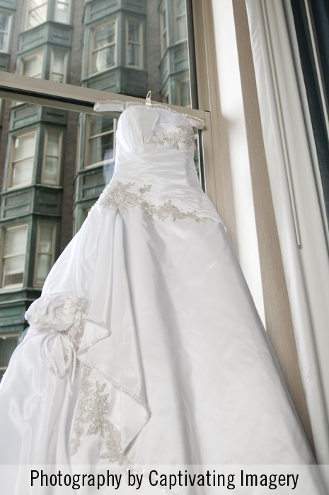 Pittsburgh bridal gown