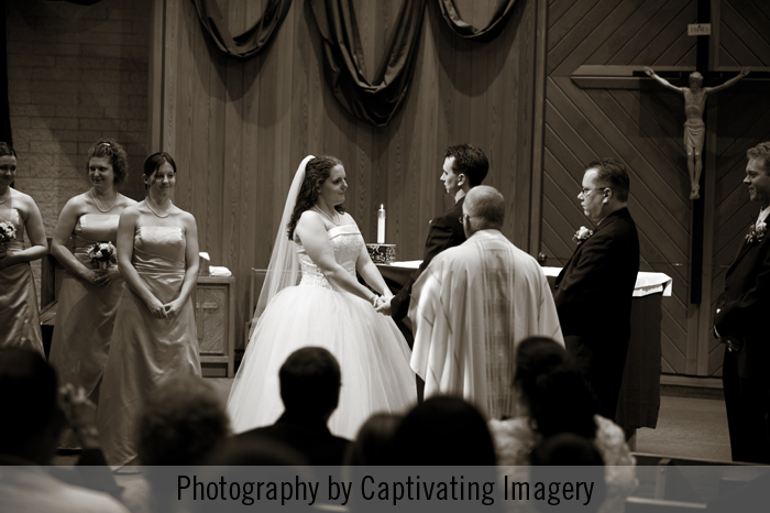 Pittsburgh wedding ceremony photo