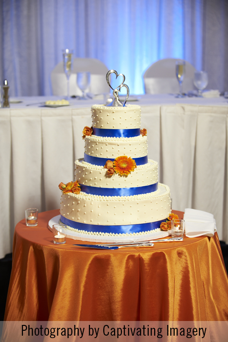 Pittsburgh wedding cake