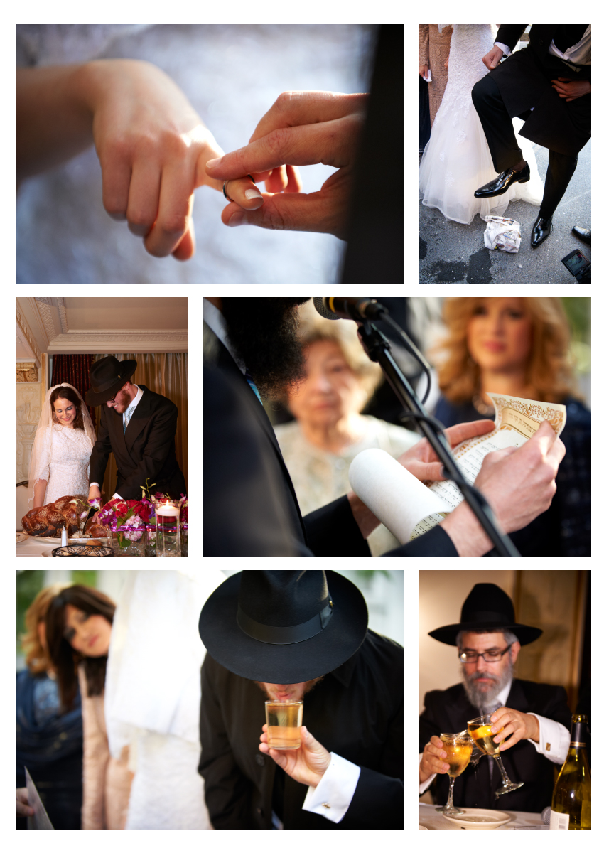 Jewish Orthodox wedding traditions
