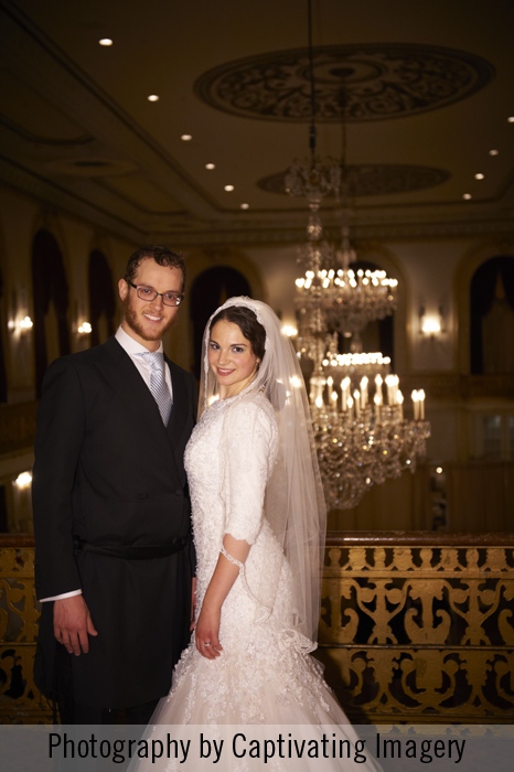 Omni William Penn wedding portrait