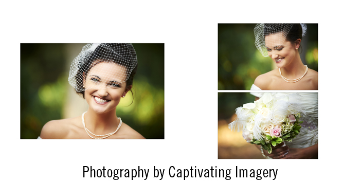 on-location bridal portraits