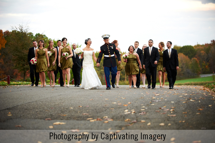 Pittsburgh bridal party