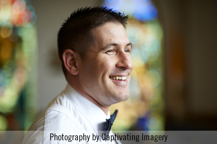 Handsome Pittsburgh groom