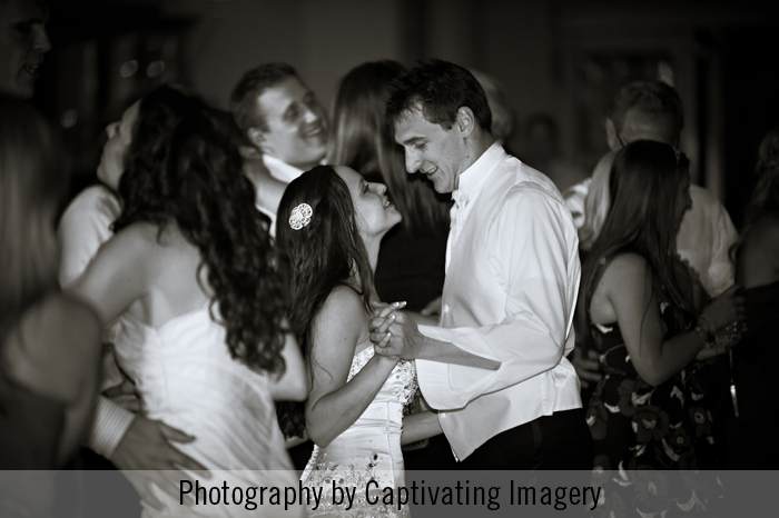 Pittsburgh wedding reception dancing photo