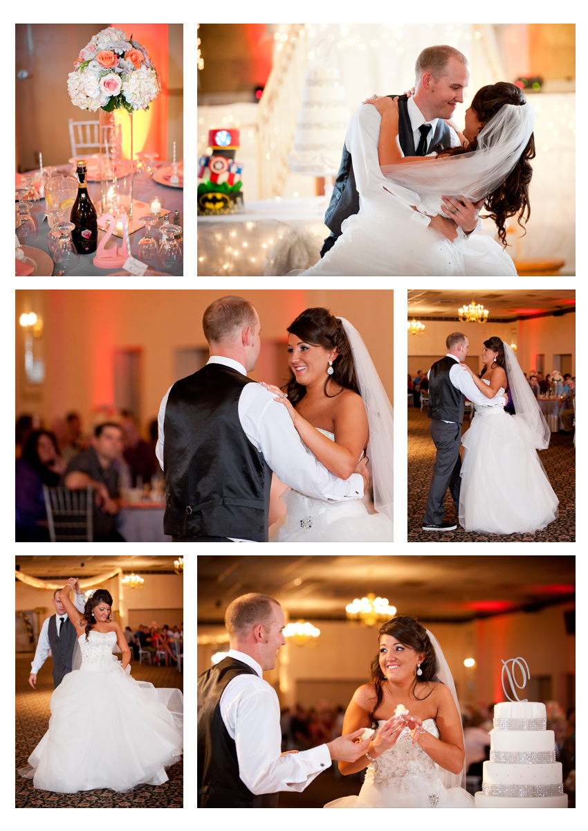 St. Florian Hall wedding reception, Wintersville, Ohio