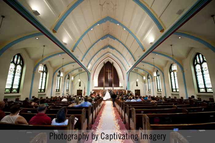 First Westminster Presbyterian Steubenville wedding ceremony
