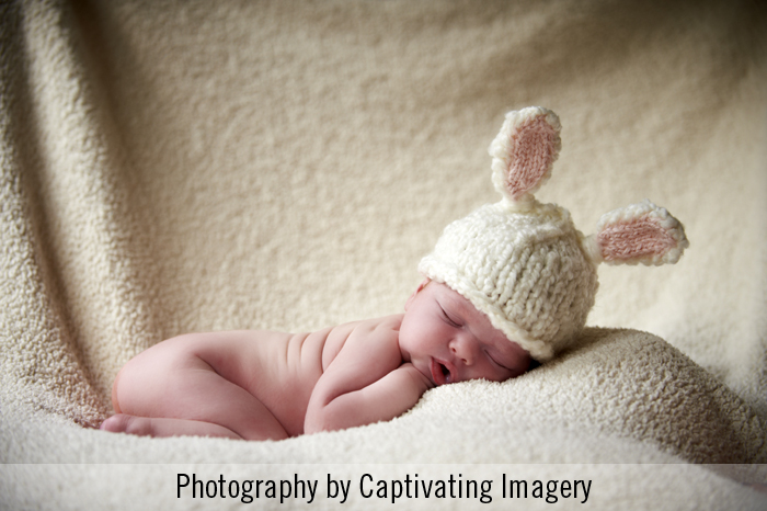newborn session photo