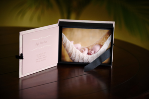 image box from a newborn session