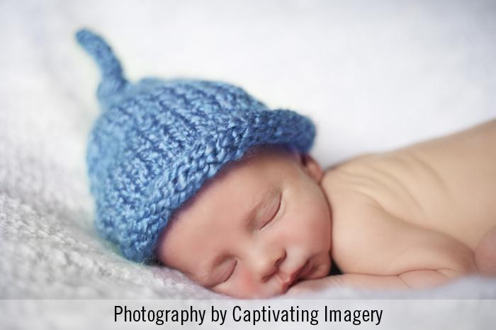 newborn close-up