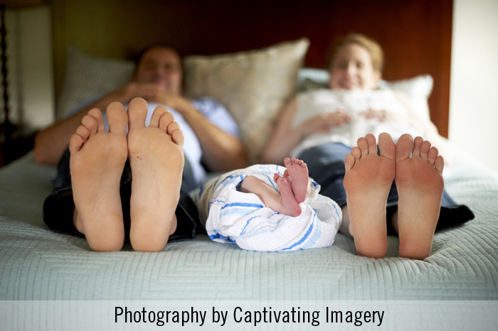 newborn session photos