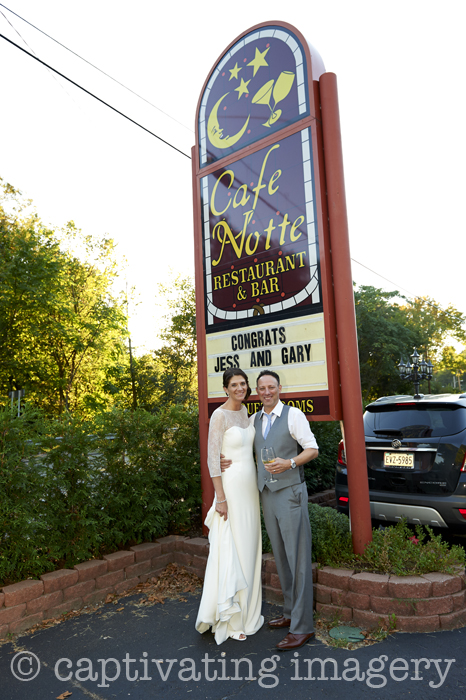 Reception at Cafe Notte