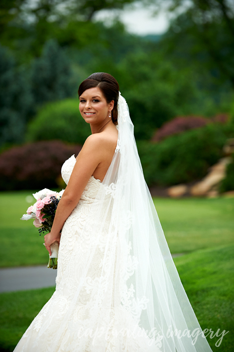 bride in dress from One Enchanted Evening