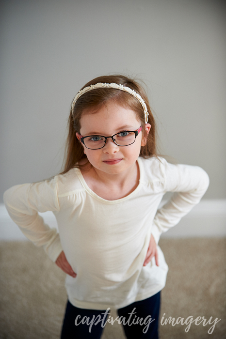 sweet and sassy 5-year old